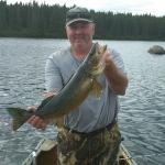 pourvoirie du lac suzie, pêche doré abitibi