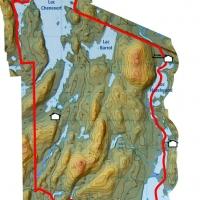 lac chenevert  carte territoires 2019